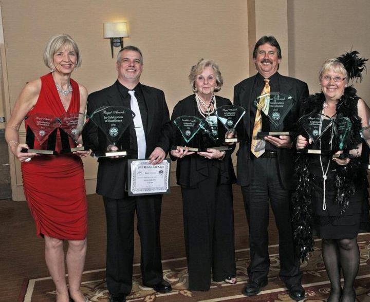 Regal Awards Cropped Winner ***2011 Benjamin Franklin Awards The Bill Fisher Award for Best First ...