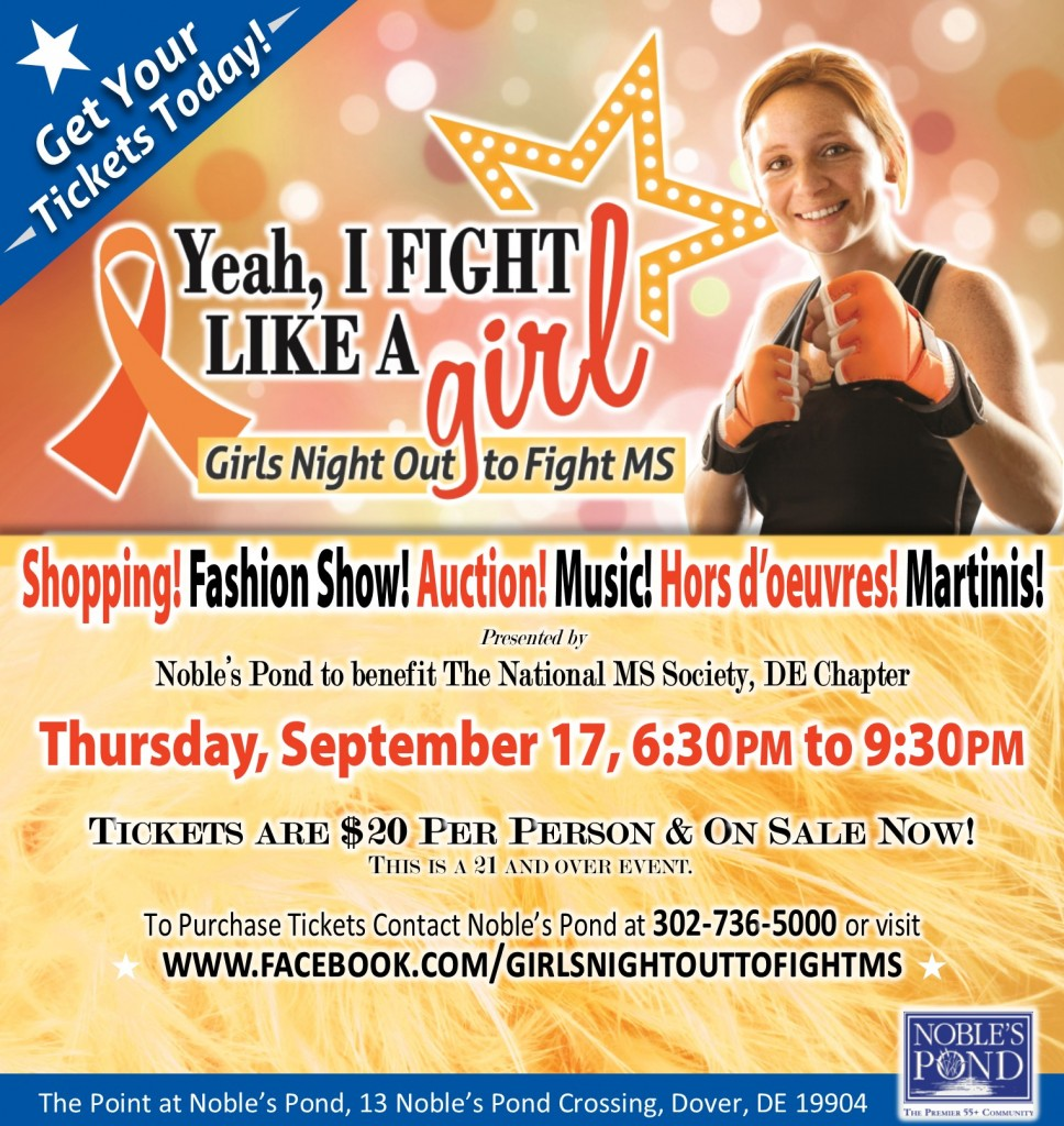 Join the Fight- 2015 Girls Night Out to Fight MS!