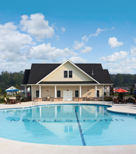 The Pool at the Point Clubhouse