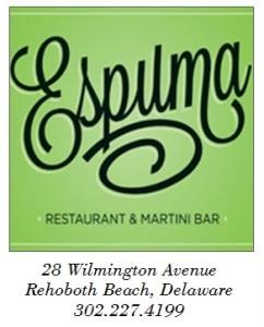 Espuma Restaurant & Martini Bar, Rehoboth Beach