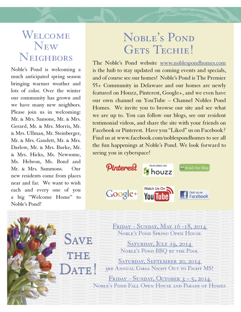 Noble's Newsletter Spring 2014 pg3