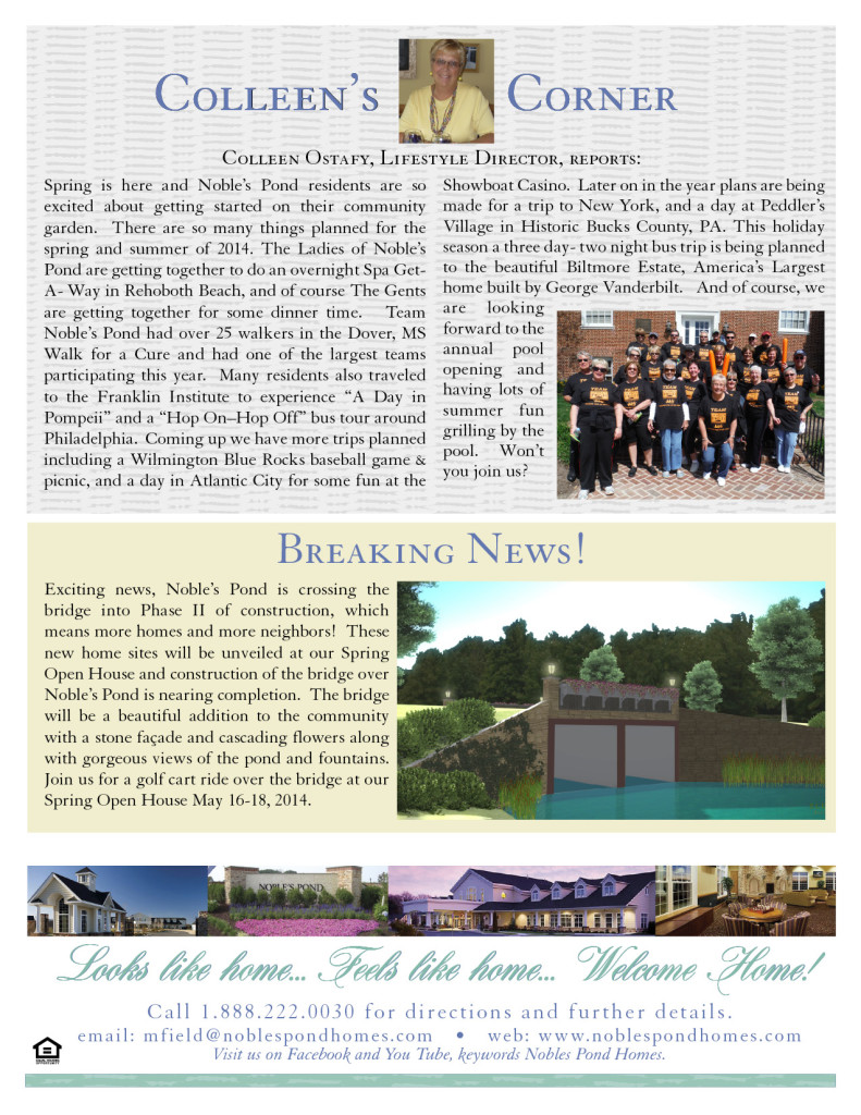Noble's Newsletter Spring 2014 pg4
