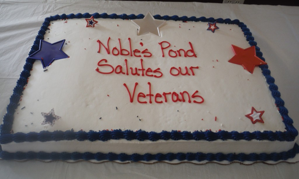Noble's Pond Salutes Veterans