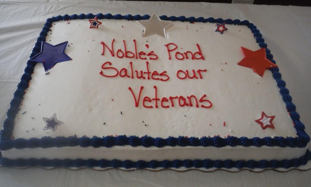 Noble's Pond Salutes Veterans
