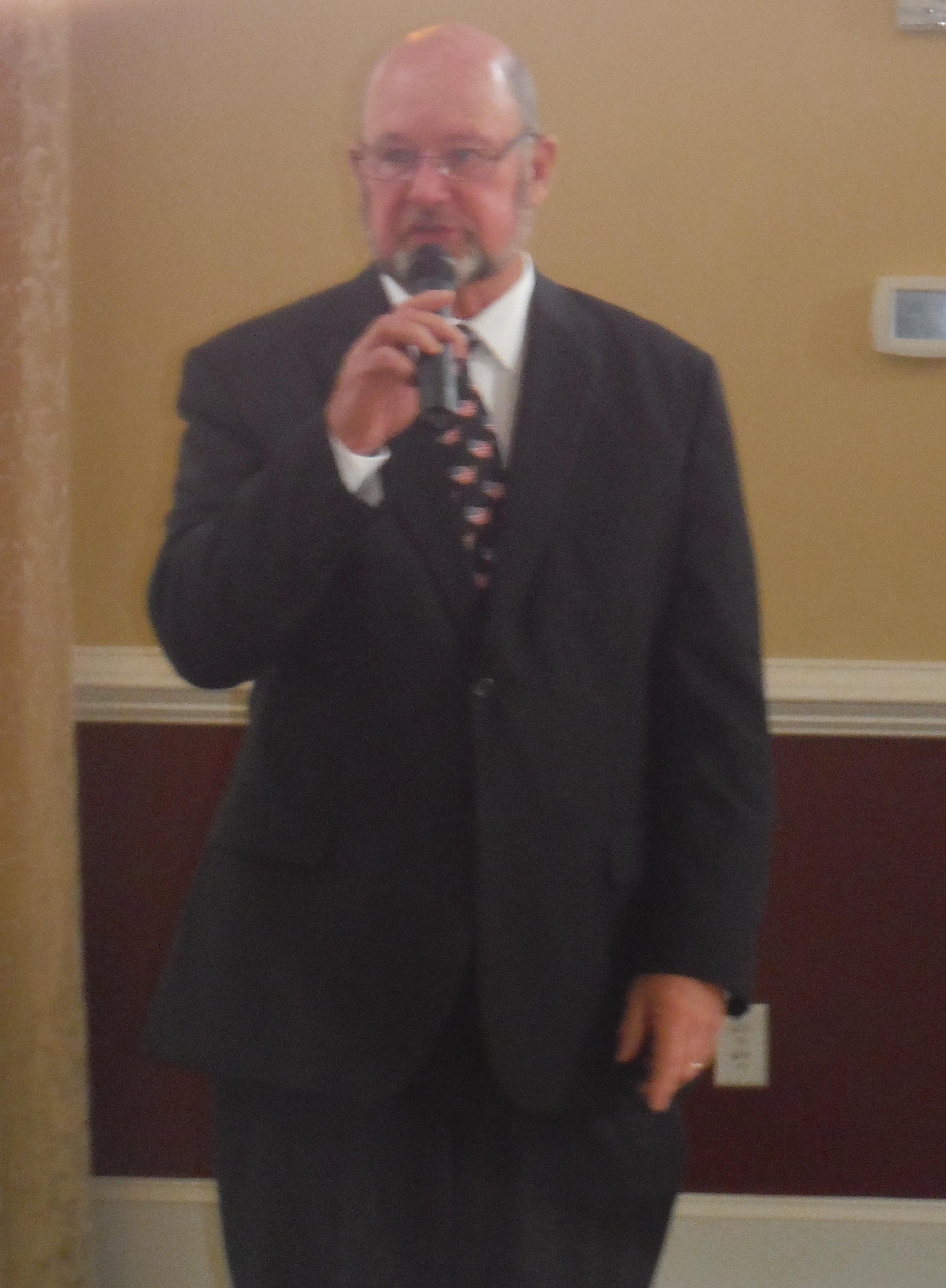 Senator Lawson Speaks at Noble's Pond Veteran's Day Celebration