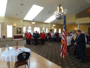 Celebrating Veterans at Noble's Pond